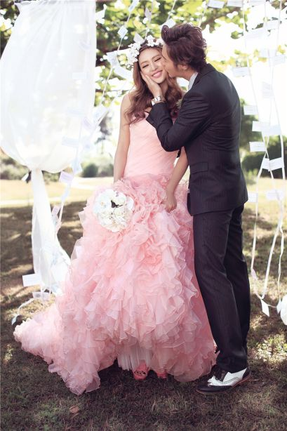 Couple Praweding Dress couple 0120 1 couple_0120_mermaid_pink